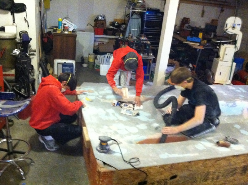 Sanding Forms 4