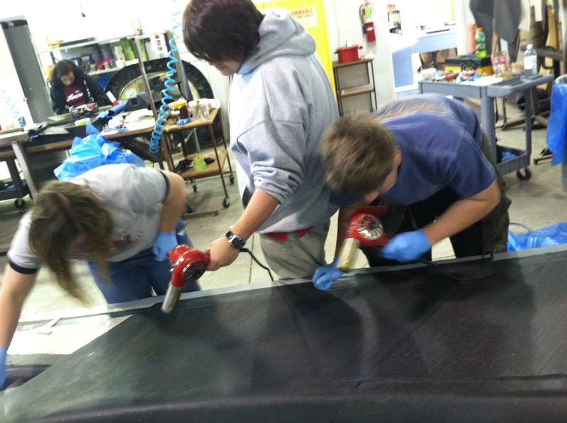 Making Car Body at LancAir