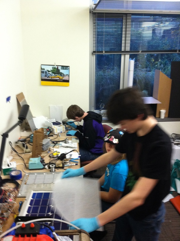 Making Solar Modules 8