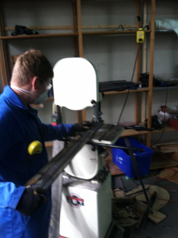 Cutting Carbon Fiber