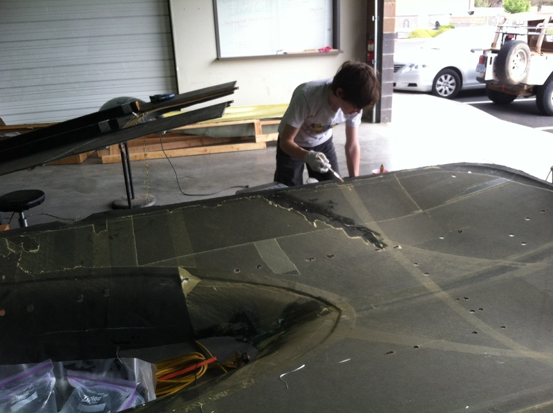 More Resin on the Car Body