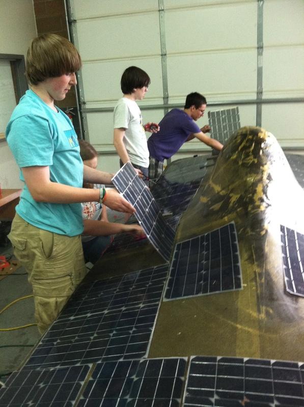 Placing Solar Modules