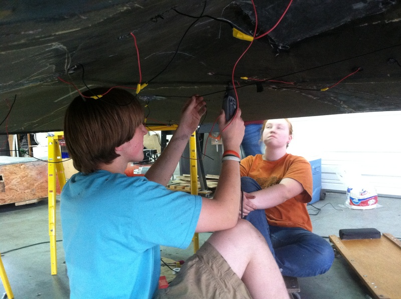Cutting Holes in the Car